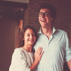 Ellen en Nick, de eigenaars van Groot Vakantiehuis